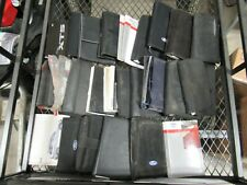 LARGE LOT OF 25 IMPORT AND DOMESTIC NEW/LATE MODEL VEHICLE OWNERS MANUALS