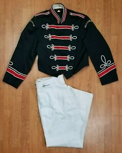 Marching Band Uniform w/ White Adjustable Pants - Halloween Costume