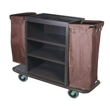 Hotel Housekeeping Maidcart Janitorial Steel Frame * New NIB Motel / School