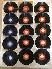 15 Seeburg Basic And Mood Background Music Records Bms 1000 162/3 Rpm