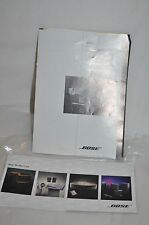BOSE ACOUSTIMASS 7 HOME THEATER SPEAKERS OWNERS GUIDE MANUAL