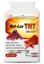 Nat-Lax TNT v10 x 90 Veg-Capsules; Strong Colon Cleanse; Specialist Supplements