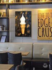 Ice Cream oil painting on canvas, Still Life, Pop Art, friends tv show, original