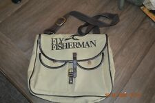 Vintage Fly Fisherman bag with removable insert