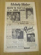 MELODY MAKER 1954 DECEMBER 4 TED HEATH TONY DELANEY BBC GERALDO JAZZ SWING