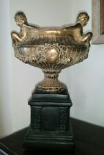 "Vintage Antique Tazza Grand Tour Urn Vase 14"" tall"