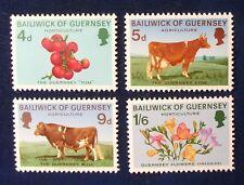 Guernsey Sc# 33-6 Mnh 1970 Horticulture