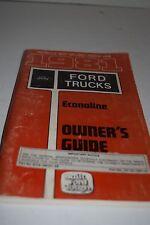 Vintage 1981 Ford Econoline Operator's Manual