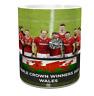 Wales 2021 grand slam winners  Wales 2021 triple crown grand slam winners mug