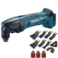 Makita DTM50Z LXT 18V LXT Oscillating Multitool Body With 39pcs Accessories Set