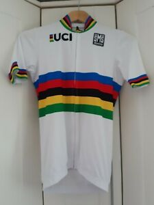 VINTAGE UCI Santini Cycle Jersey - Size - XS / Small