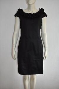 NICOWA 🌸 wunderschönes Kleid Cocktailkleid Dress in Schwarz Größe 40