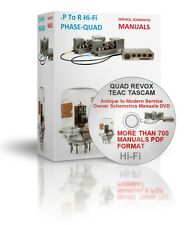 P To T Hi-Fi Phase Sony Antique to Modern Service Owner Schematics Manuals DVD