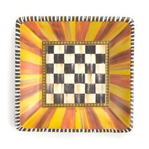 Mackenzie-Childs Festoonery Paper Plates ~ Salad/Dessert ~ #32904-775 ~ NEW ~
