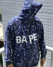 Billionaire Boys Club Bathing Ape BAPE Parker Blue Camo Swarovski Hoodie