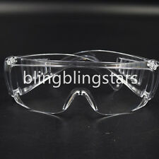 Dental Lab Spectacles Safety Glasses Goggles Eye Protective Eyewear Clear UV