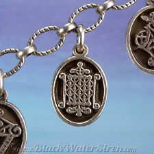 VOODOO - PETITE MEDAL - OGOUN Veve Charm Pendant 925 Sterling Silver