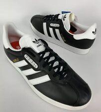 Adidas Gazelle Super Essen Size 9.5 Mens Oreo Leather Black White Limited