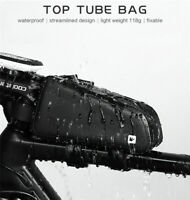 Bicycle Bag Waterproof Cycling Top Front Tube Frame Bag MTB Road Bike Pannier