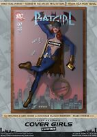 Batgirl of Burnside Pin-Up Sexy Cover Girls A3 Signed DC Comic Art Print Gotham