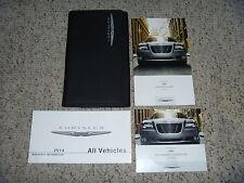 2014 Chrysler 300 Owner Operator User Guide Manual S C Luxury SRT8 5.7L 6.4L V8