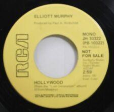 Hear! Rock Promo 45 Elliott Murphy - Hollywood/Hollywood en Rca