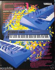 Yamaha CS1x Color Brochure in GERMAN CS1x Farbe Broschüre auf Deutsch