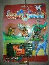 Britains Wild West Cowboy & Indians Toy Figure Set - #7418  (B 15)