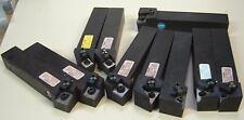 "9 PCS TRW WENDT - SONIS 1 1/4"" SQUARE SHANK TURNING TOOL HOLDERS - COMPLETE"
