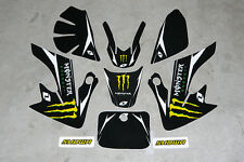 Dirt Pit Bike Fairing Plastic Decal Graphics Kit 125cc SSR SR125 A1 Auto Semi MM