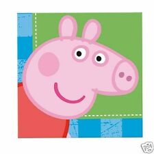 PEPPA PIG SET COMPLETO FESTA COMPLEANNO BICCHIERI PIATTI TOVAGLIA TOVAGLIOLI