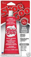 Shoe Goo CLEAR Shoe repair 3.7 OZ. Tube NEW