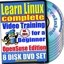 Learn Linux Complete, 8-DVD Video Training OpenSuse Set
