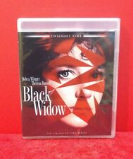 Black Widow Blu-Ray - TWILIGHT TIME - Limited Edition Dennis Hopper - BRAND NEW