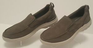 Rockport City Edge TruTech Casual Loafers Taupe Leather Men's Size 8 M New