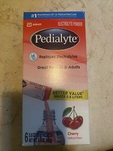 Pedialyte Electrolyte Powder, Hydration Drink Cherry 0.6 oz  11/2022Exp