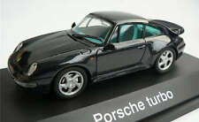 RARE SCHUCO PORSCHE 911 993 TURBO DARK BLUE METALLIC 1:43 MINT 1/500