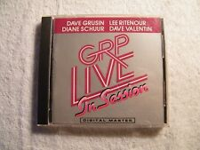 GRP - Live In Session - DAVE GRUSIN / RITENOUR - CD GRP 9532 - 1985 - Jazz