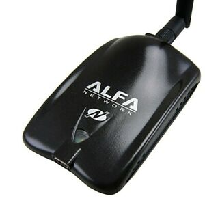2000mw Alfa Awus036nh 802.11b/g/n Wireless USB For Vista/7 and Linux