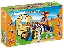 Playmobil 5516 - Caballo de Rodeo con Establo - NUEVO