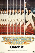 Saturday Night Fever movie poster print - John Travolta - 11 x 17 inches