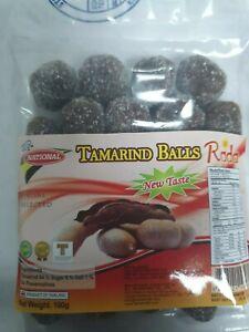 TAMARIND BALLS NATIONAL tamarind balls new taste 2 x 100g