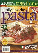 Taste of Home magazine Pasta Classic dinners Homemade sauces Meatball recipes