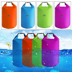 Multi-function Outdoor Waterproof Dry Bags Sack Kayak Camping Hiking Cycling DIY