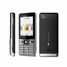Sony Ericsson J105i Naite  (Unlocked) Mobile Phone Silver Black - Good Condition