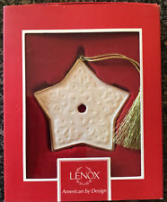 Christmas Star Ornament - Lenox - New