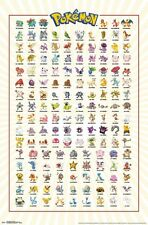 POKEMON - KANTO CHARACTER GRID POSTER - 22x34 - 15251