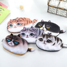 Neu Cute Cat Pencil Box Pouch Pen Storage Bag Purse Cosmetic Makeup Case