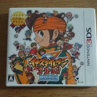 Nintendo 3DS Inazuma Eleven 1 2 3 Endou Mamoru Densetsu Level5 Japan Import