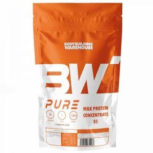 Pure Milk Protein Powder Concentrate Micellar Casein & Whey Shake 1kg 2kg 4kg